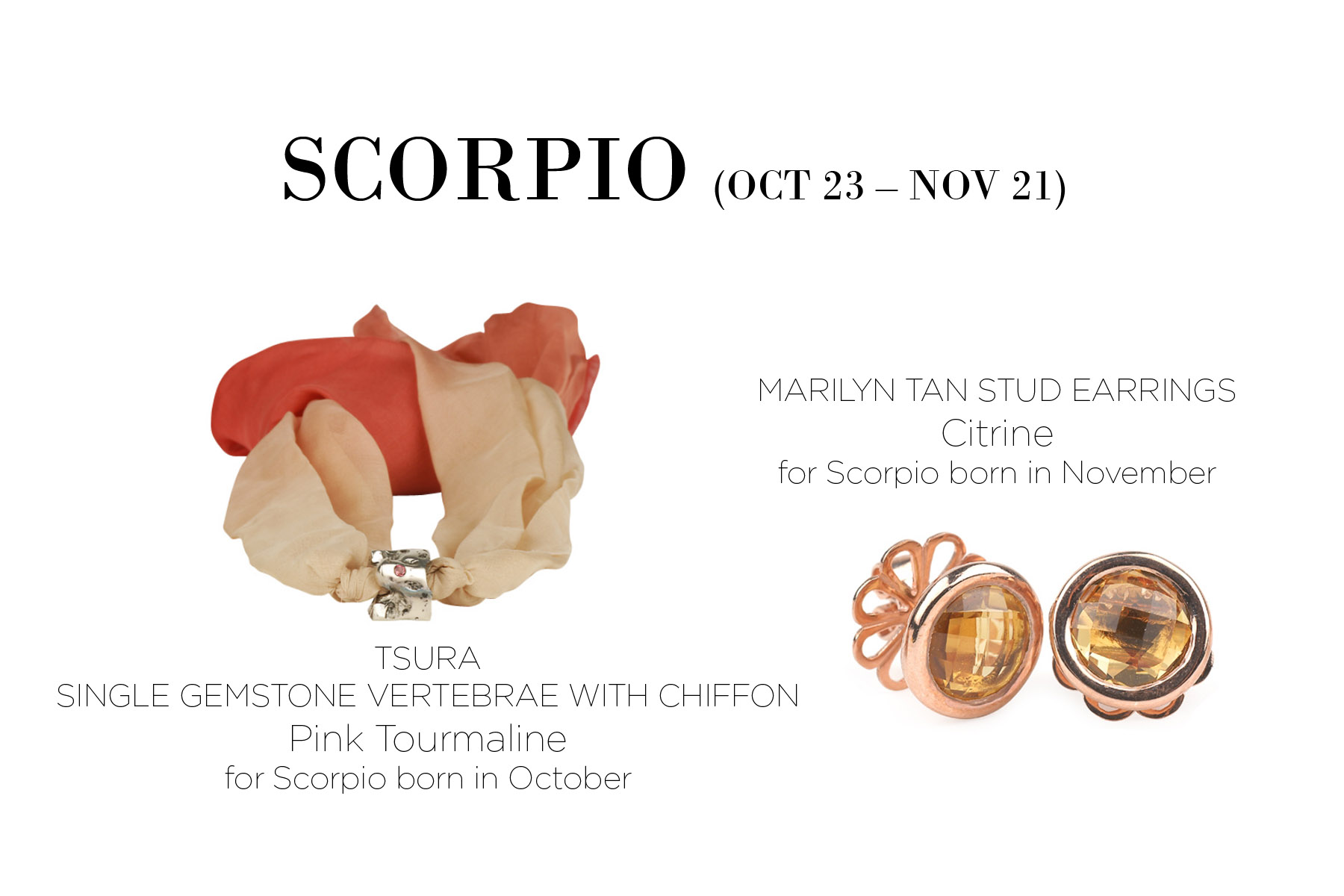 Scorpio Custom Piece at Asha | Gemstone rings ... |Scorpio Gemstone Rings